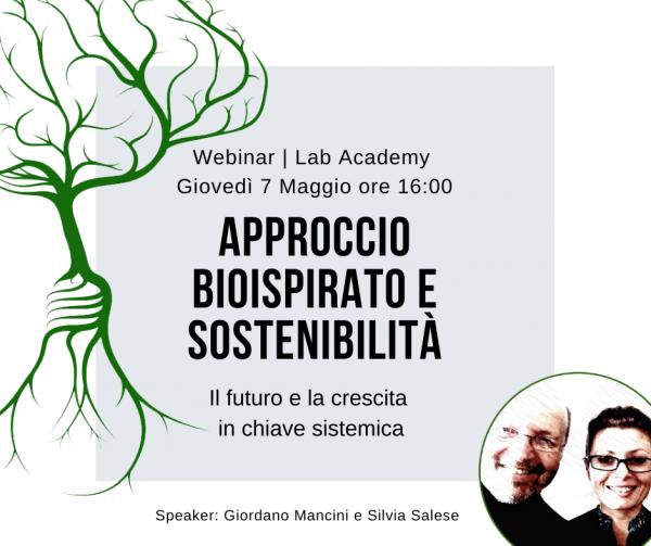 Approccio bioispirato e sostenibilità