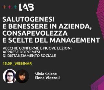 Salutogenesi E Benessere In Azienda Consapevolezza E Scelte Nel Management Silvia Salese